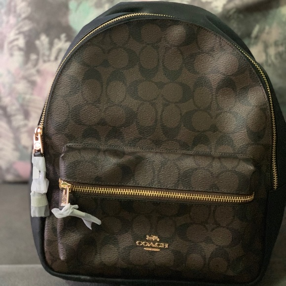 Coach Handbags - Brand New Coach Medium Charlie Backpack